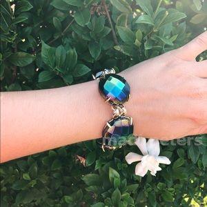 Kendra Scott Cassie Bracelet in Black Iridescent